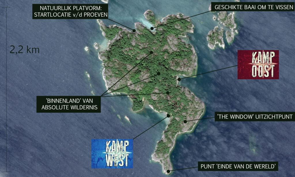 Het Eiland map