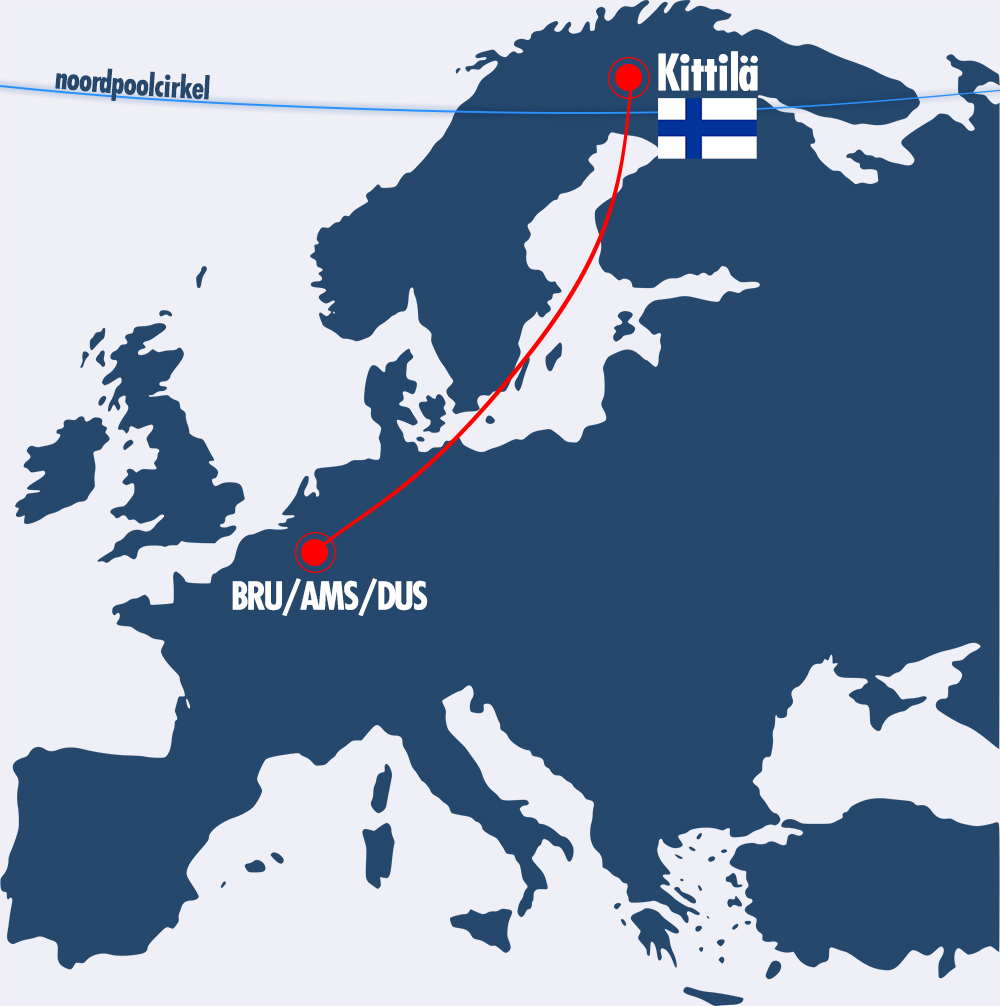 Map vlucht